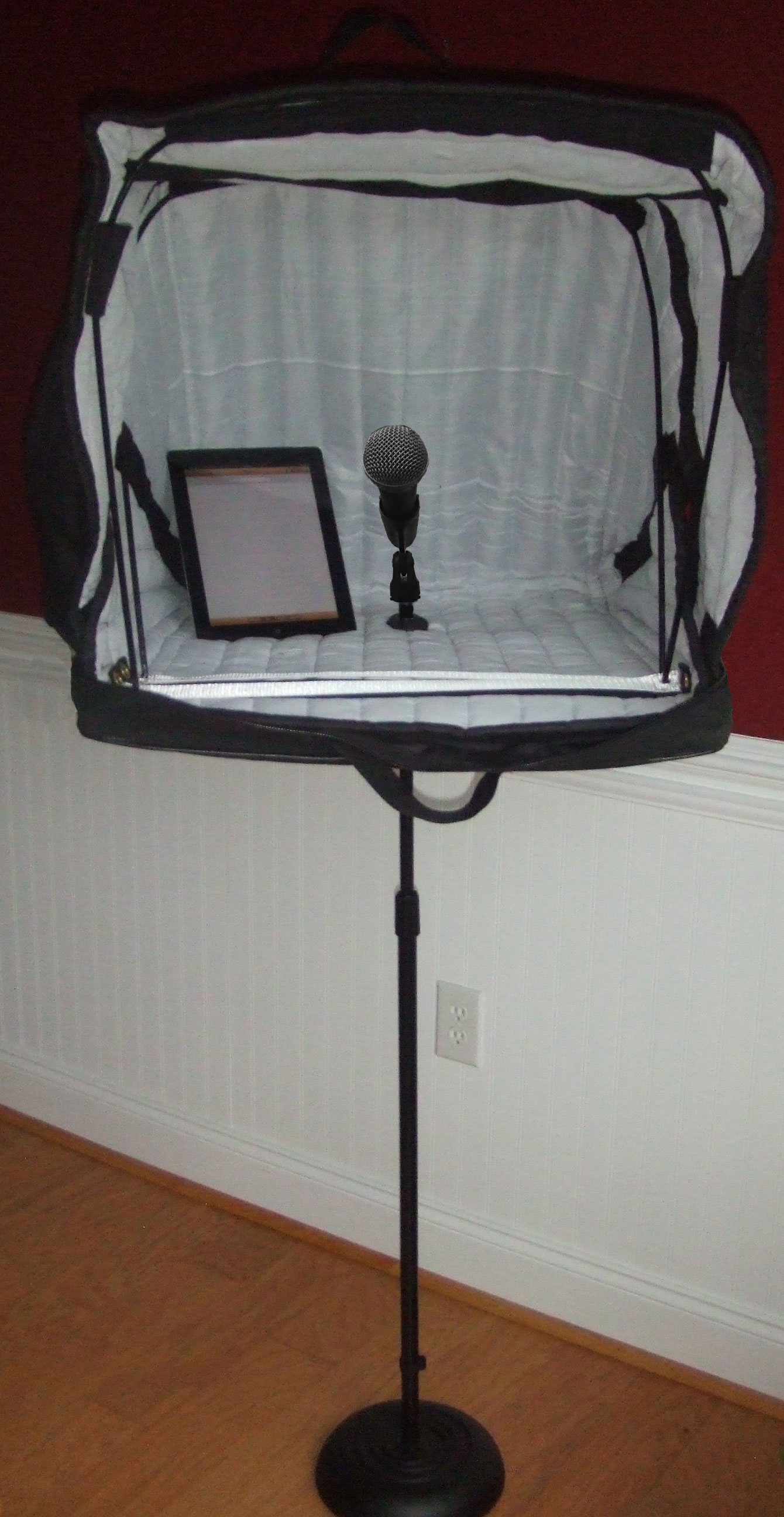 Acoustical vocal booths for Classic house vocals acapella