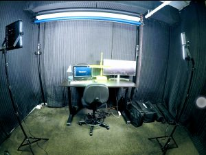 LA_RadioStudio-AcousticTretment with SoundBlankets