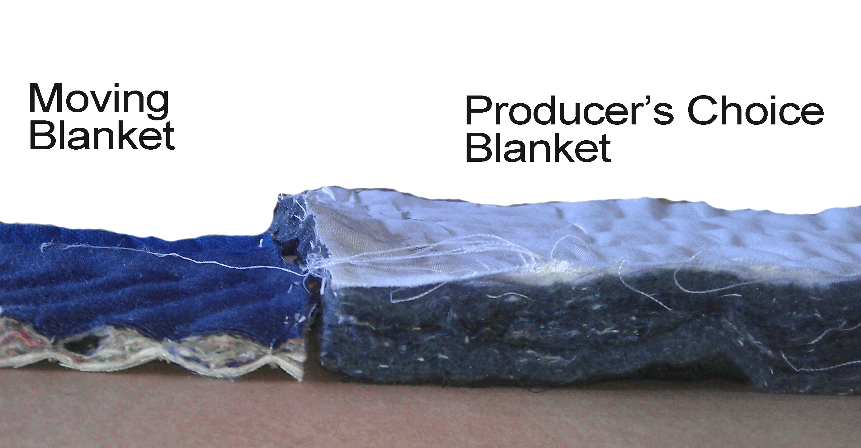 amount of filler in producers choice blankets -text 2