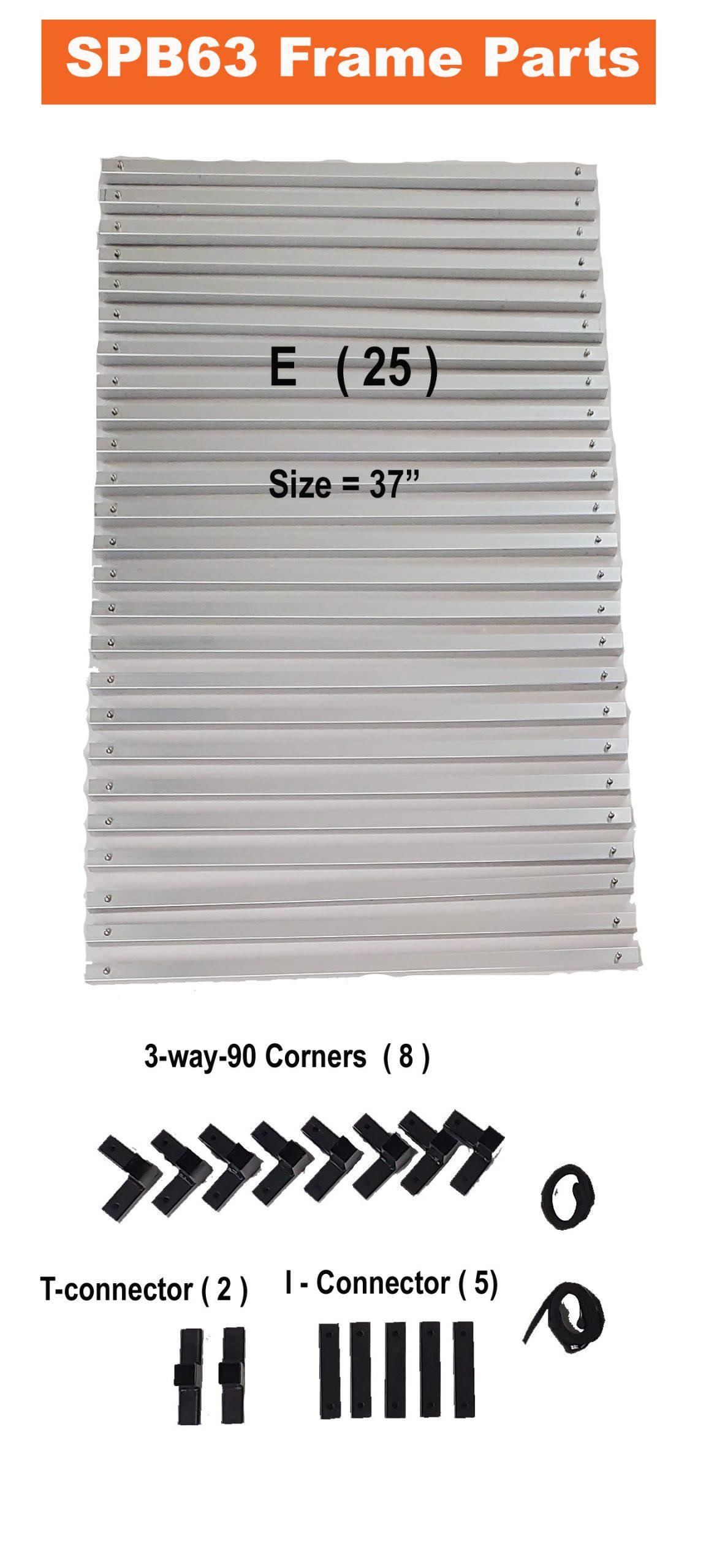 SPB63 -frame parts