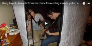 Using-Acoustic-Blankets-Producers-Choice-for-Recording-Acoustic-Guitar,-Drums,-Vocals.-Interview-with-4chordsproduction