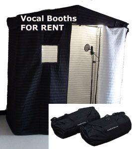 Vocal Booths Rentals