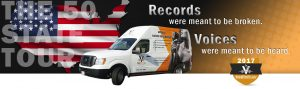 Voiceover tour 2017 record breaking tour by vocalboothtogo.com