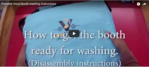 Portable-Vocal-Booth-washing-instructions