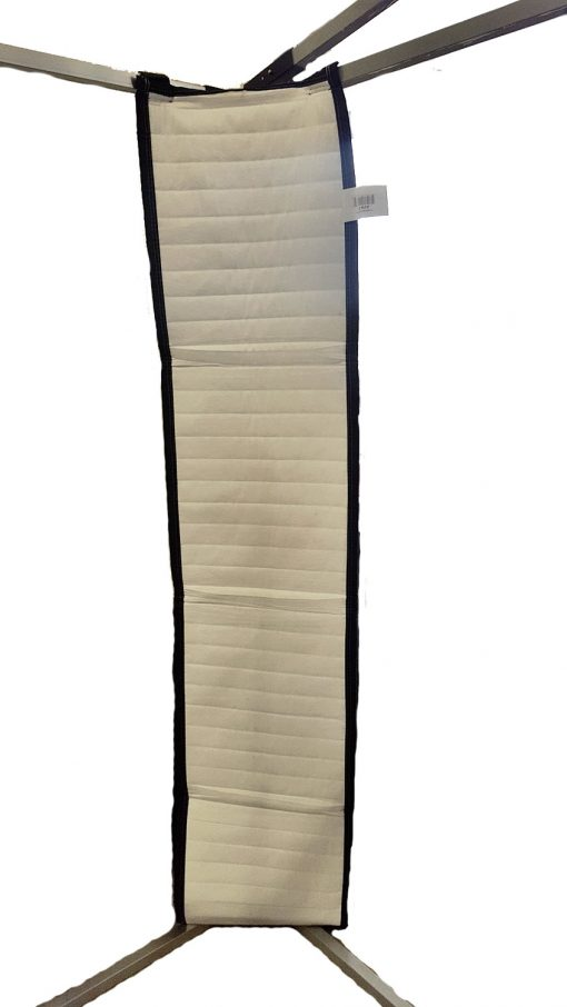 Sound Absorption Strip - on a frame corner