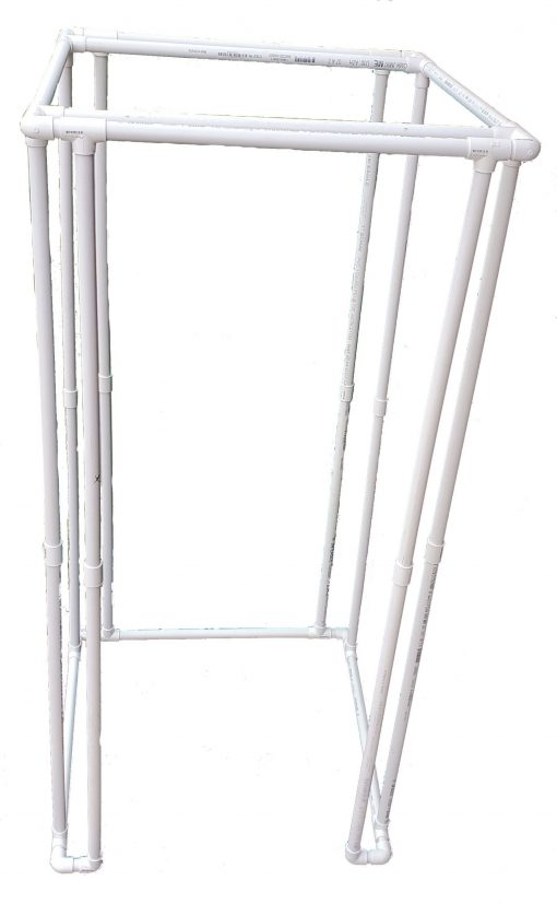 Complete PVC frame kit 38x38x80
