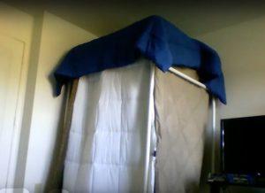 VocalBooth-PVC Frame+Bed Blankets
