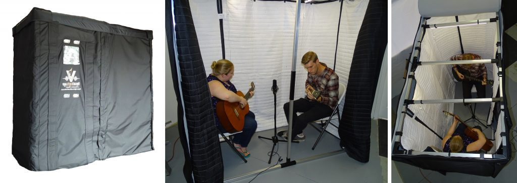 Practicing and Recording in Soundproof booth SPB63