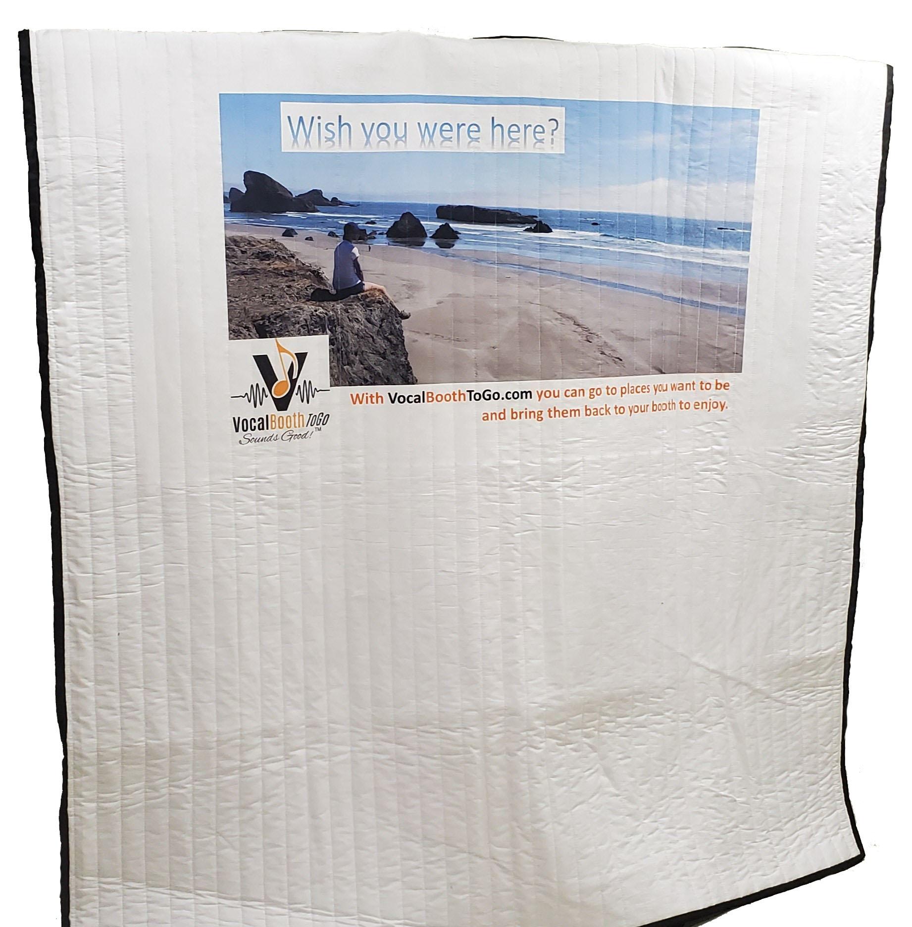 Sound Blankets with Custom print