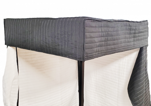 DIY PVC VocalBooth Roof Blanket