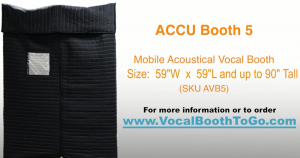 Mobile Acoustic Vocal Booth, (AVB5) Assembly Instructions