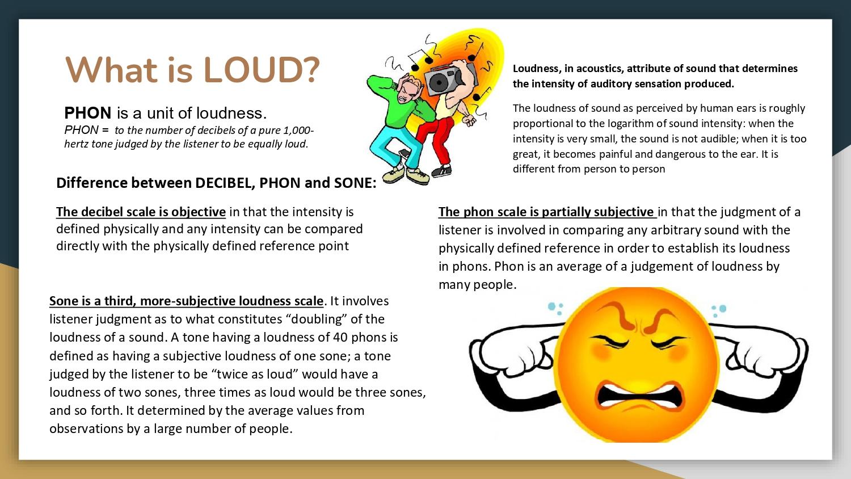What is LOUD?