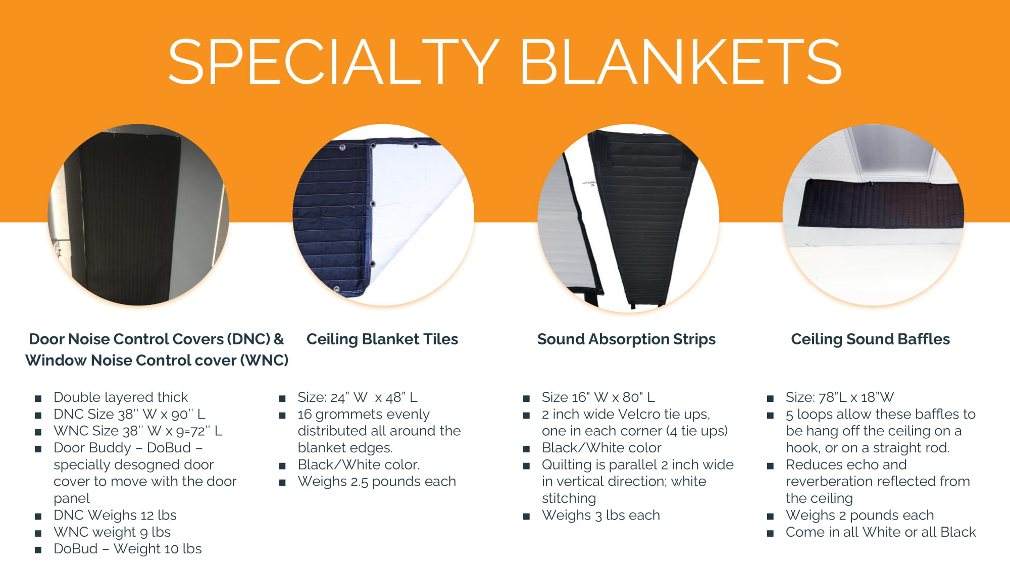 SPECIALTY BLANKETS